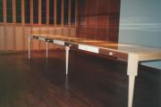 table-de-refectoire-en-erable-avec-tiroirs